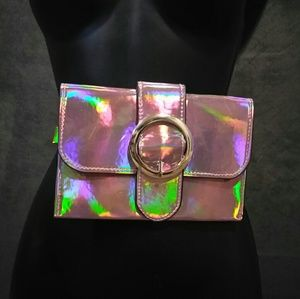 Handbags - Hologram Fanny Pack W/ Belt